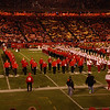 "2008 ISU Alumni Band; Oct. 25, Homecoming Halftime : Patriotic show featuring ""Sousa"" and ""America the Beautiful"""