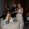 2009 Breanne and Dan; The Wedding Cake :