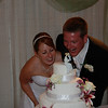 2009 Tasha and Jason; Cutting the Cake :