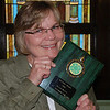 2011 Sac County 4-H Awards Ceremony : Susan was presented with the 2011 Sac County 4-H Alumni Award! This year the Awards Ceremony was held at the United Methodist Church in Nemaha. It's a classic, charming, small town old church with beautiful stained glass windows, wide woodwork, and all decked out for Thanksgiving. (Each year it's at a different town in Sac County.)