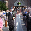 2011 Elizabeth & Brian; @Church after the Ceremony :
