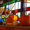 2011 Zion Lutheran Church in Ruthven, decorated for Thanksgiving :