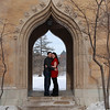 2012 Lindsay & Kevin at the ISU Campanile :