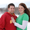 2012 Lindsay & Kevin; south side of Jack Trice Stadium :