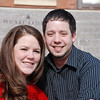 2012 Lindsay & Kevin on the steps of Catt Hall :