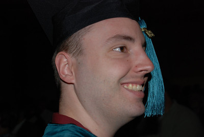 2009 Brian Graduates from Des Moines University