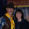 "2009 Iowa Horse Fair; April 3-5 : Doug and Jody Lindgren, owners of ""Hay Creek Ranch"" had a booth at the Iowa State Fairgrounds to promote the campground, which is surrounded on three sides by the Black Hills National Forest in South Dakota. (Doug & I are 1st cousins)"