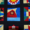 "2009 Sac County Quilt-A-Fair : The first few Barn Quilt photographs were taken in Greene and Calhoun counties, on my way up to the ""Sac County Quilt-A-Fair"" on Sunday morning, September 27. What a great day for a drive!"